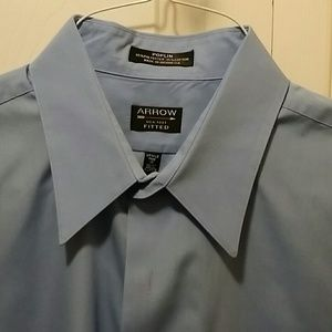 2/ $25. Arrow Dress Shirt 17, 36/37 XL